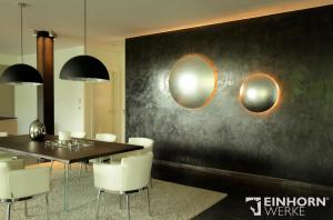STUCCORINO Terra 0208 + EINHORN WERKE ® Wand- & Bodenöl plus Malermeister Martin Eifert  Wandgestaltung, Torgau, individuelles Design, exclusiv, Hausbau, Germany, Exotic Wall