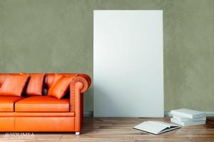Sofa orange Beton Lunker