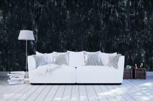 Wohnzimmer mit Athrazit Silber