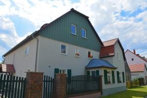 mineralische Fassadenbeschichtung mit Keim Farben Malermeister Sachsen Loßwig