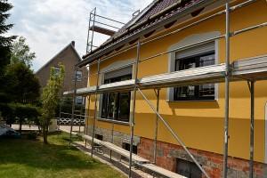 kreative Fassadengestaltung Torgau, Oschatz, Leipzig ,Dresden Fassaden Ideen Beschichtung Renovierung