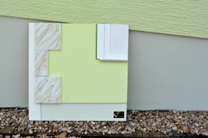 Musterplatte Fassade