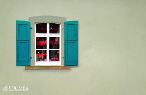 Haus Fensteransicht pixelio Kiesel