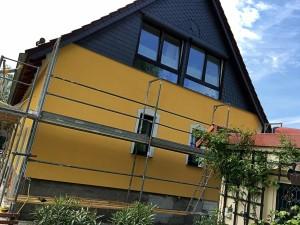 Fassadengestaltung Ideen, kreative Farbkonzepte Malermeister Torgau Belgern Oschatz Sachsen