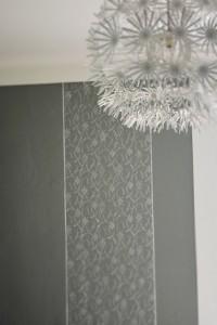 Rollentechnik an Wandflächen kreativ