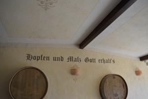 Schrift an Fassade Torgau Leipzig Sachsen Dresden Oschatz Herzberg
